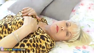 Europemature Lady Sextasy Amazing Solo Footage