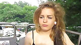 Masturbating In Front Of Spectators At The Age Of 18 In The
