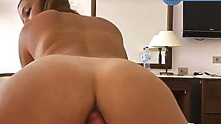 Gymbunny First Time Rides Anal + First Anal Orgasm