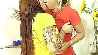 Latin Lesbian Sex With Erica Vieira And Patricia