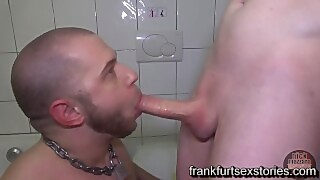 Pizza Boy Blows And Gets Fucked By Monster Cock