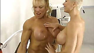 Female Bodybuilders Working Out Nude 2