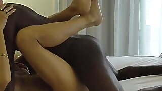 Hubby Gets Wife Ready For Bbc