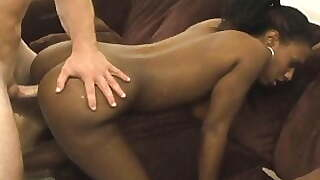 Homemade Amateur Black Girl Sex With A Big Cock White Guy