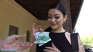 Public Agent Japanese Beauty Rae Lil Black Fucks For Cash