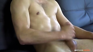 Nextdoorcasting - Straight Guy Jerks Off During Casting Audition