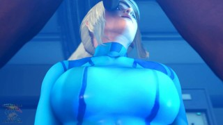 Samus Throat Fucked Metroid