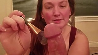 Asmr Pov Handjob With Brushing Stippling Whispering And Repeating Words