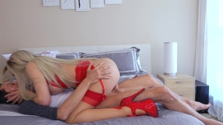 Bedside Nurse Bends Over - Katie Banks