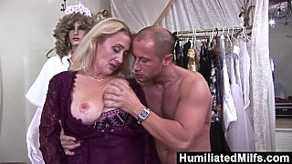 Humiliatedmilfs - Lascivious Milf Gets Her Hairy Pussy Stuffed With Cock