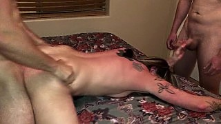 Cheating Wife Cream Pied And Gang Banged While Her Husband Was At Work