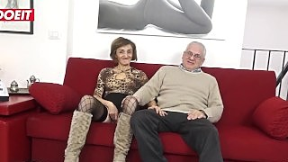 Letsdoeit - Mature Italian Swinger Gets Her Asshole Filled With Cock
