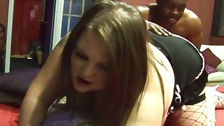 Teen Bbw Drilled Hard Then Rimmed By Black