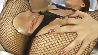 Fhuta - Submissive Slut Tina Weiss Gets Double Penetrated