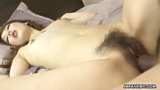 Very Tender Asian Lass Getting Her Pussy Pumped By The Dude