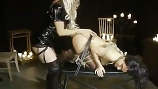 Kinky Cage Play With Toys Machines And Cock