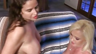 Two Hot Bi Milfs Fuck Two Brothers