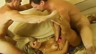 Milf Blonde Swinger Messy Facial