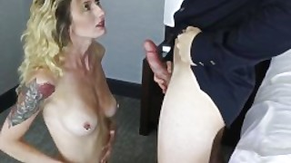 Hot Blonde Sugar With Amazing Body Fucked To Pay For College