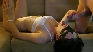 Real Blowjob And Sex With My Friend After Watching Film