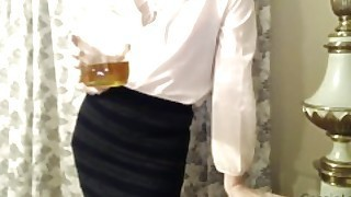 Pov Thief Coworker Caught And Has To Drink Piss