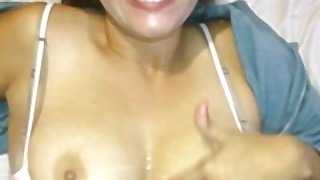 Cum On Shy Asian Tits After Fucking And Orgasm Big College Boobs Bouncing