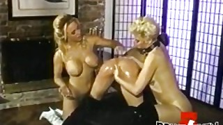 Amazing Babe Seduced And Dildoed By Hot Lesbian Milfs