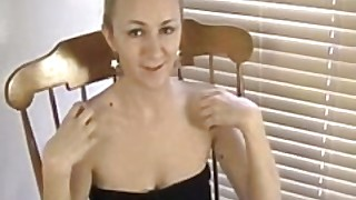 Busty Amateur Jacklynn Masturbates After A Hot Interview