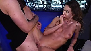 Fakhub Originals Hot Sex Robot Comes Alive To Fuck Space Taxi Driver Behind Her Creators Back