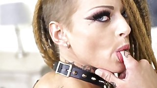 Chad White Fucks Kimber Veils Rough  Cums On Her Face And Pussy