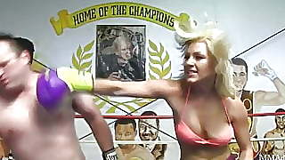 Cameron Dee Mixed Boxing Beatdown