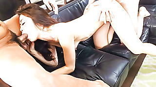 Maki Hojo Tries Cock In The Pussy After - More At Japanesem