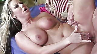 Hot Blonde Wife Seduces Her Husband And #039;s Friend