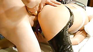 Getting My Pussy Pounded By A Toy And A Cock Dvp