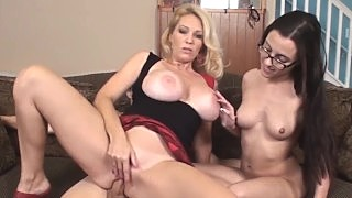 Sex Charged Milf Charlee Chase And Hubby Fuck Sitter