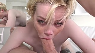 Young Pearl Sinclair First Hardcore Porn Shoot