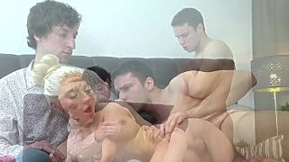 Sell Your Gf - Angelika Cristal - Hubby Watches Young Wife Fuck