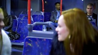 Blackedraw Two Beauties Fuck Giant Bbc On Bus