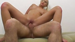 Blonde Cutie Wants His Dick Inside Of Her