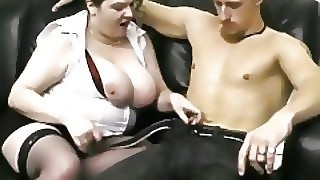 She Finds Bbw With Her Hubby