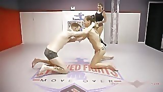 Wrestling, Babe, Big Dick, Brunette, Fetish, Milf, Reality, Small Tits