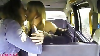 Female Fake Taxi Horny Minx Has Steamy Taxi Sex With Bisexual Dutch Babe