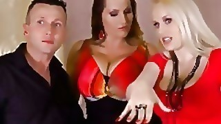 Curvy Babes Laura Orsolya And Angel Wicky Orgasm In Threesome Hardcore Scene