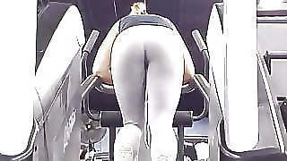 Big Ass Tight Leggings Stairmaster 03