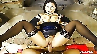 Vrcosplayx Xxx Cosplay Brunette Babes Compilation In Pov Virtual Reality