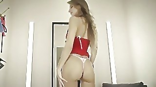Hot Russian Melena Maria Bangs Her Ass With A Dildo