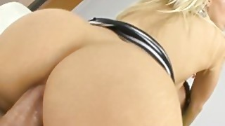 Pervcity Blonde Anal Slut Ashley Fires Get A Cum Martini
