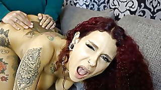 Pregnant From The Party Flirt Shock With Mega Creampie