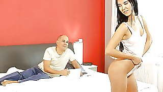 Old4k Dad Knows How To Caress A Young Lady To Make Her