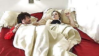 Stepmom Shares Bed With Horny Stepson